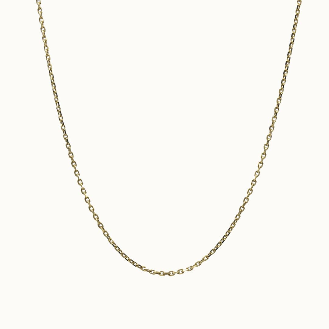 Elle | 14K Plain Necklace