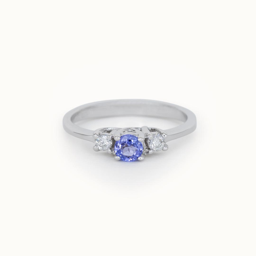 Ray | 14K Tanzanite & Diamond