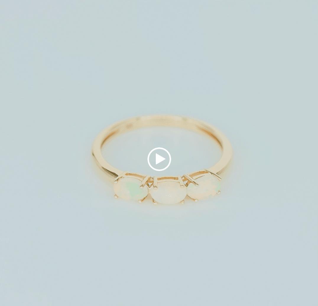 Sofia | 14k Triple Opal