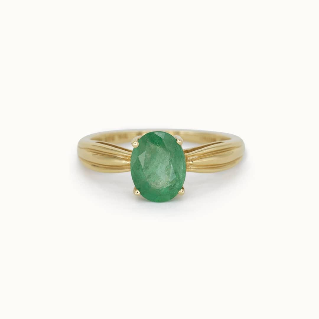 Nemi | 14K Emerald