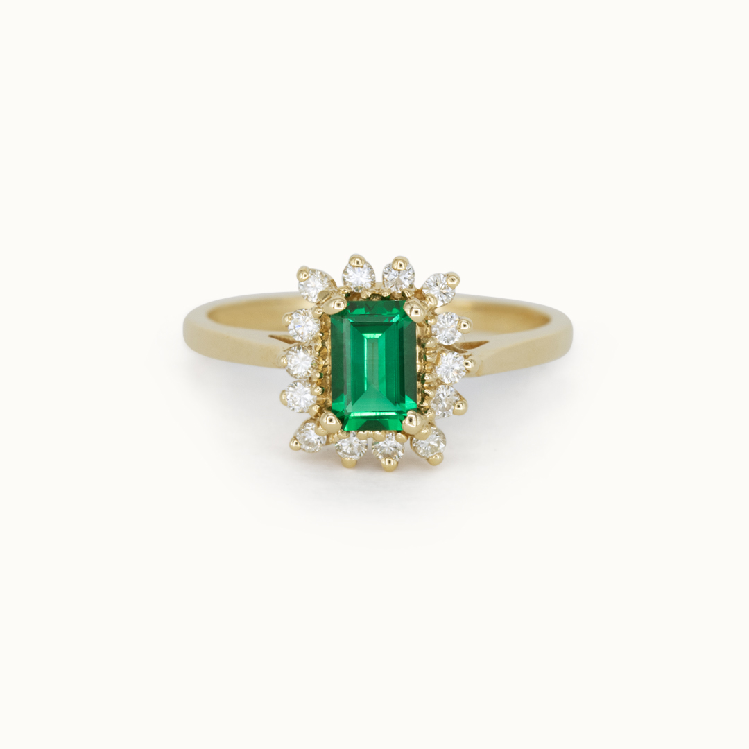 Maeve   14K Emerald