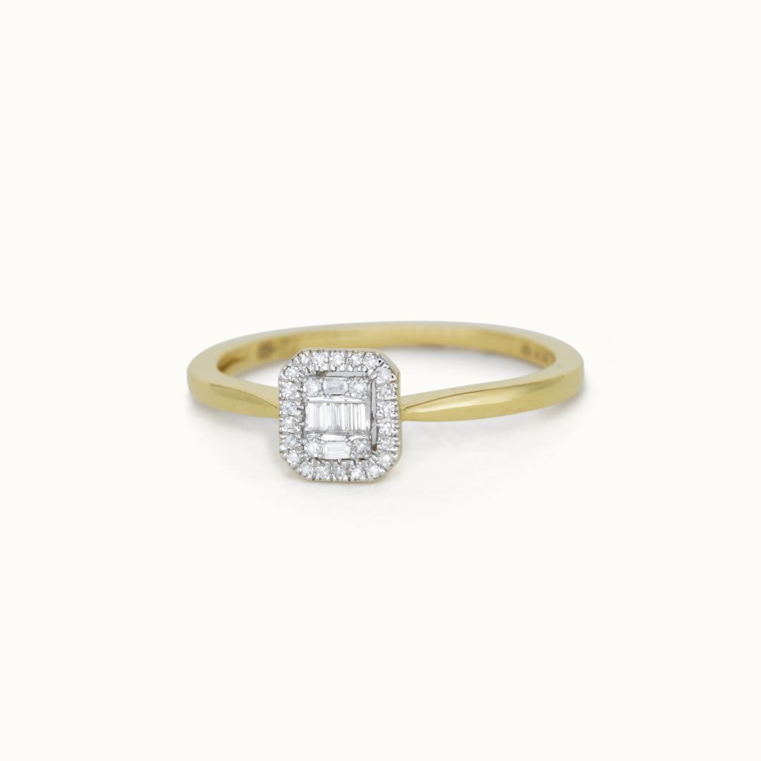 Baquette | 14K Diamond