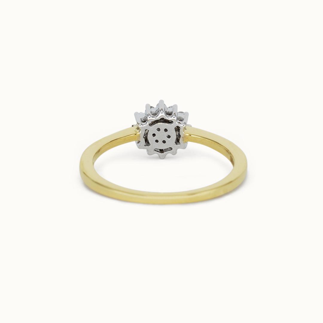 Etoile | 14K Diamond Cluster