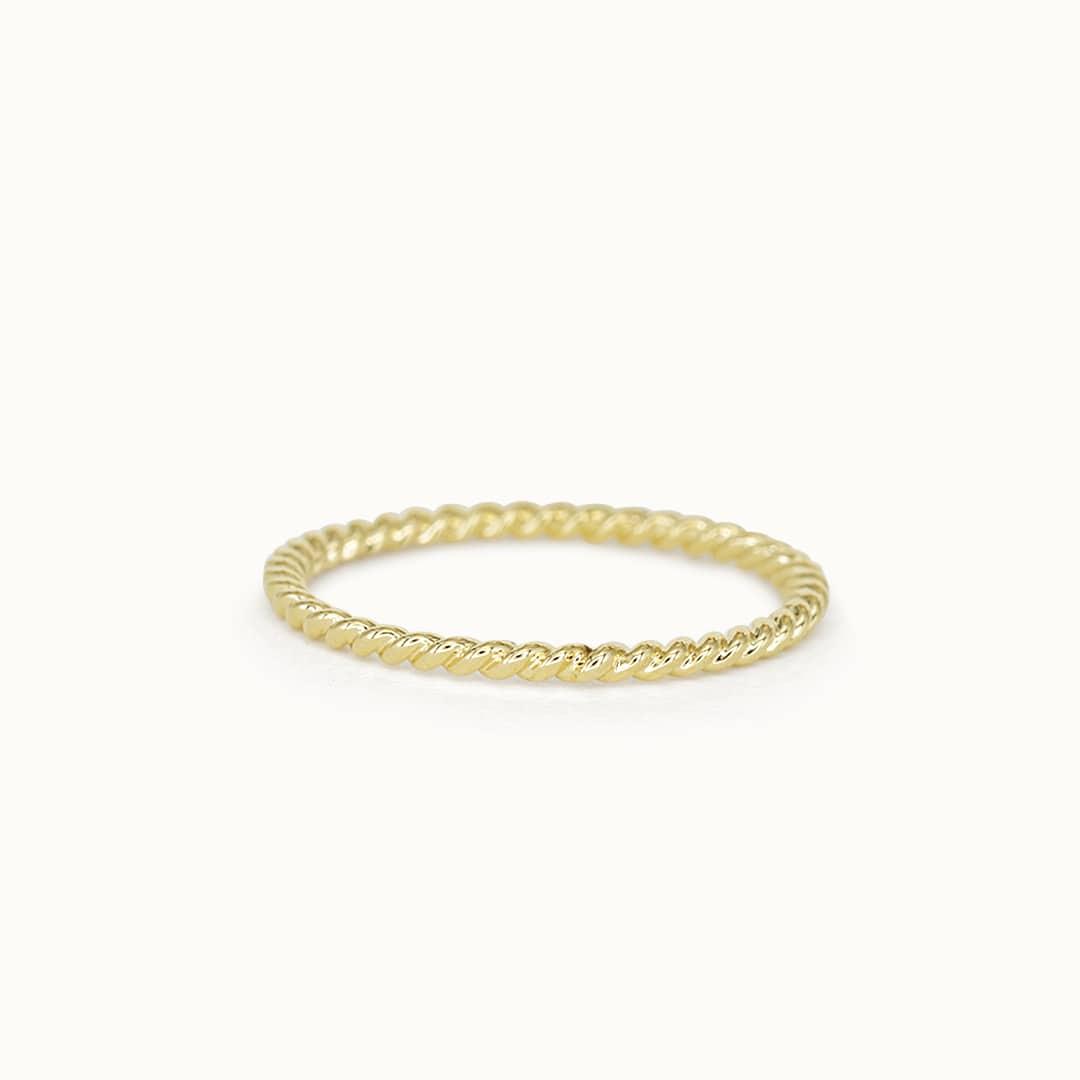 Jane | 14K Twisted ring