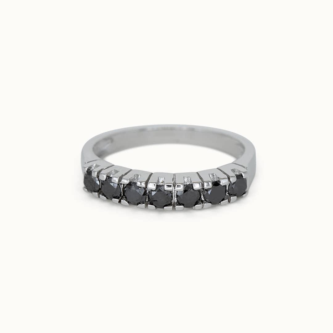 Leila | 14K Black Diamond