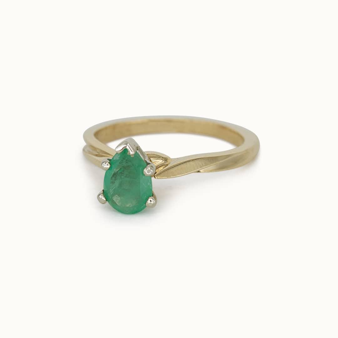 Jolie | 14K Emerald