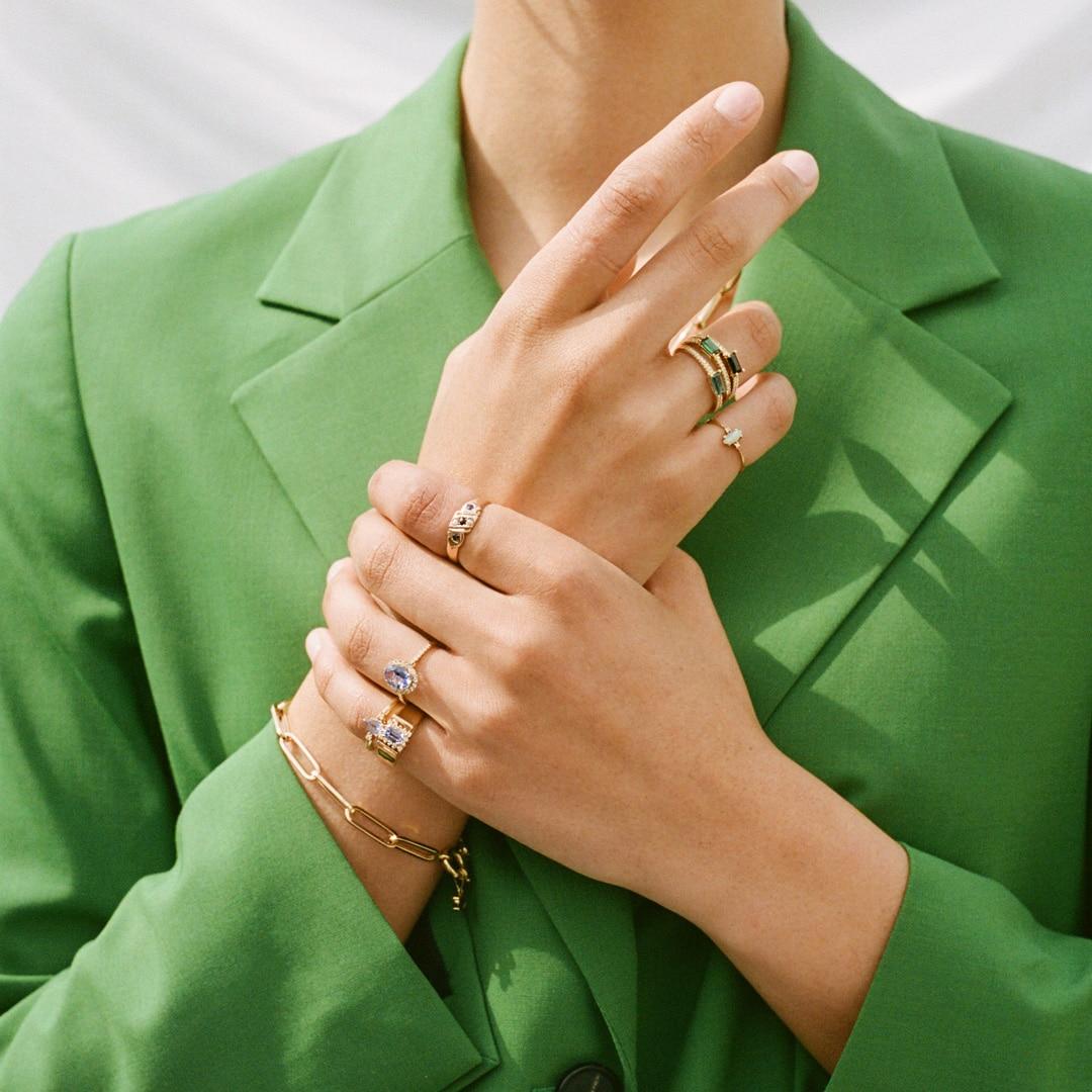 Lovie   9K Sapphire & Pearls