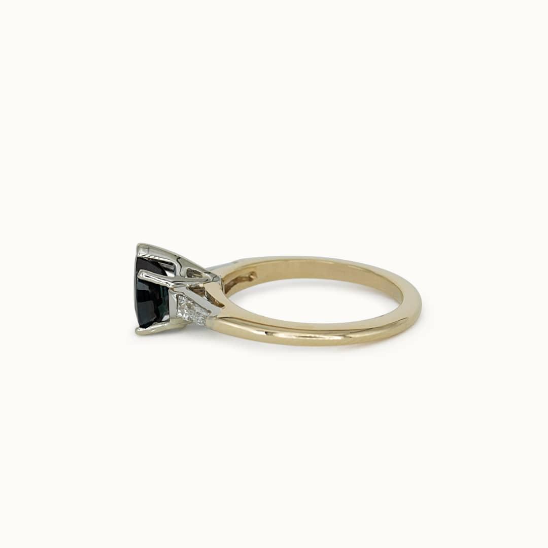 Yse | 14k Sapphire & Diamond