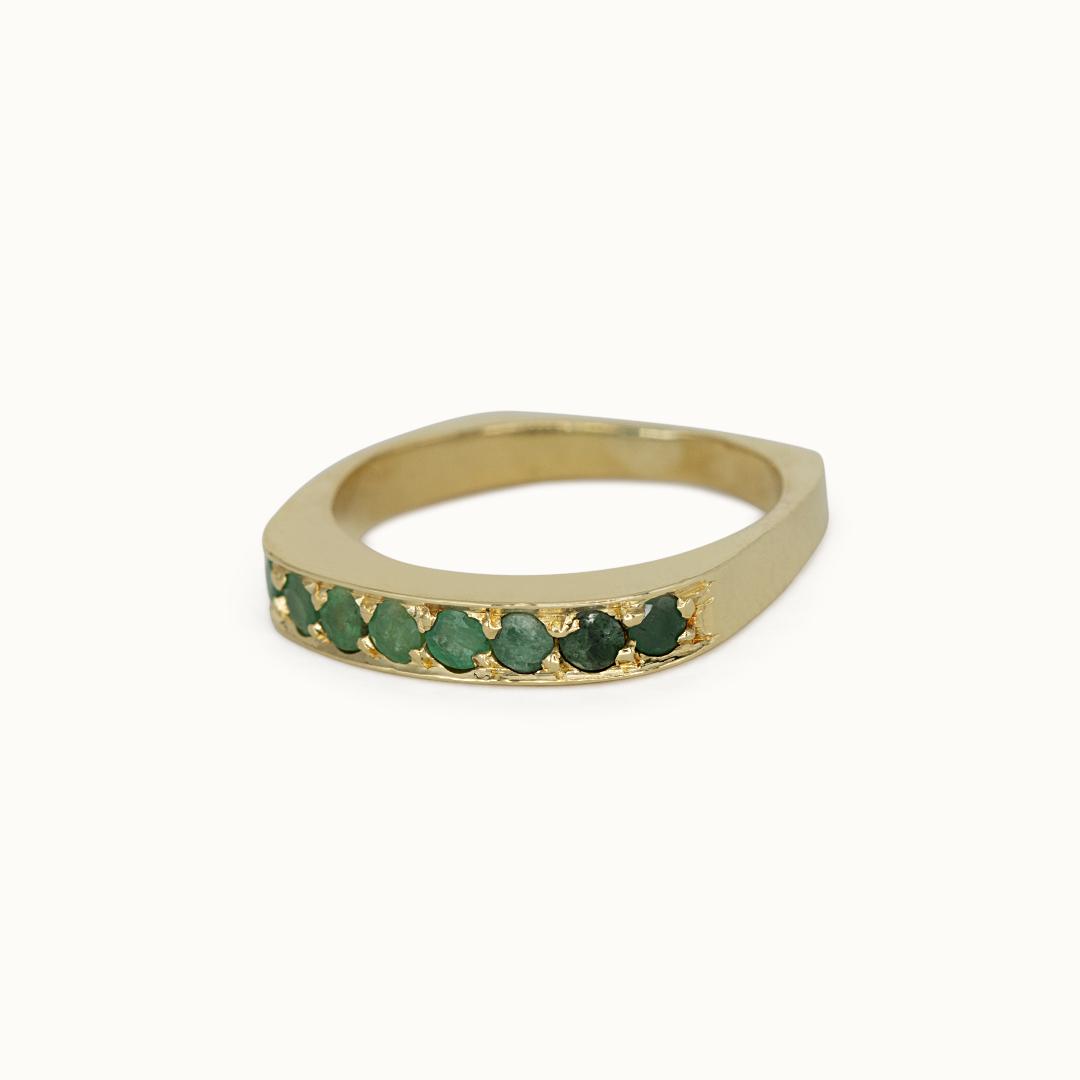 Cassie | 18K Emerald