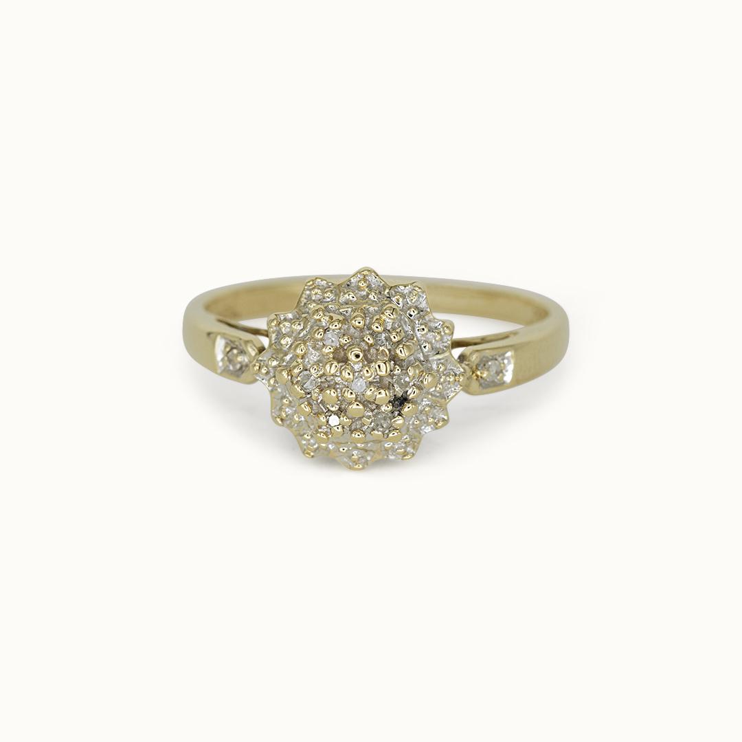 Lodi | 9K Diamond Cluster