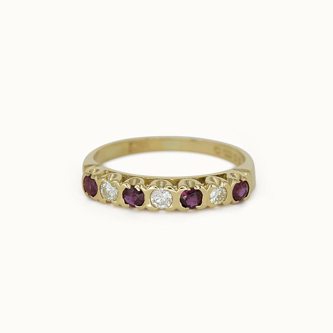 Sienna | 18K Ruby & Diamond
