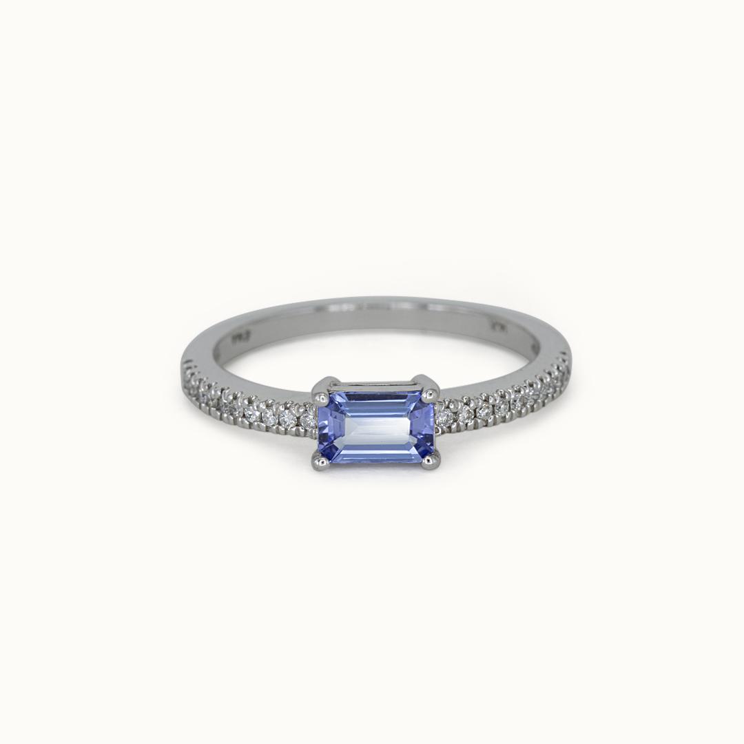 Joye   14K Tanzanite & Diamond