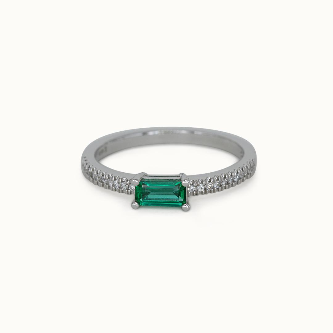 Joye   14K Emerald & Diamond