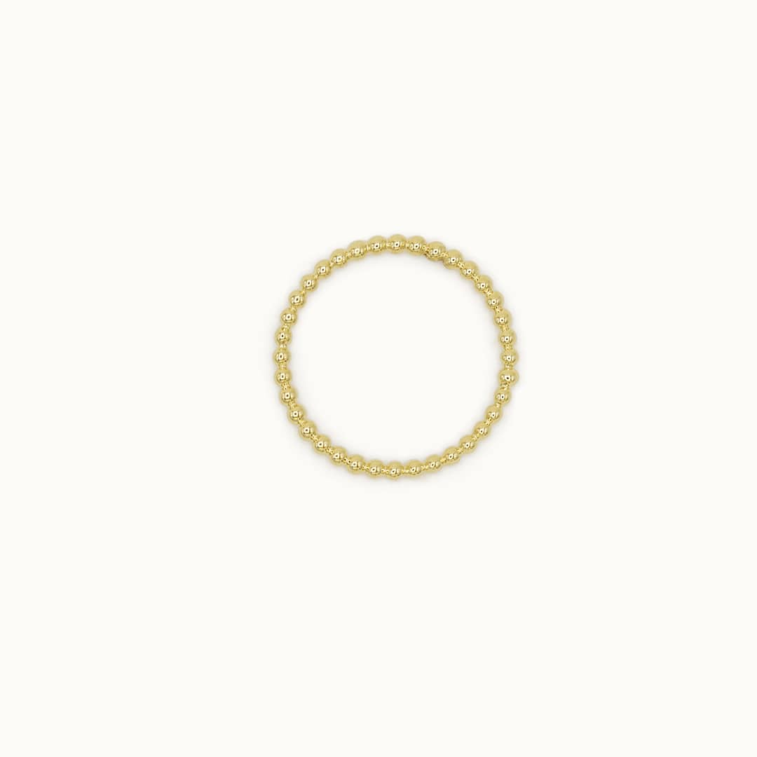 Claire | 14K Ball ring