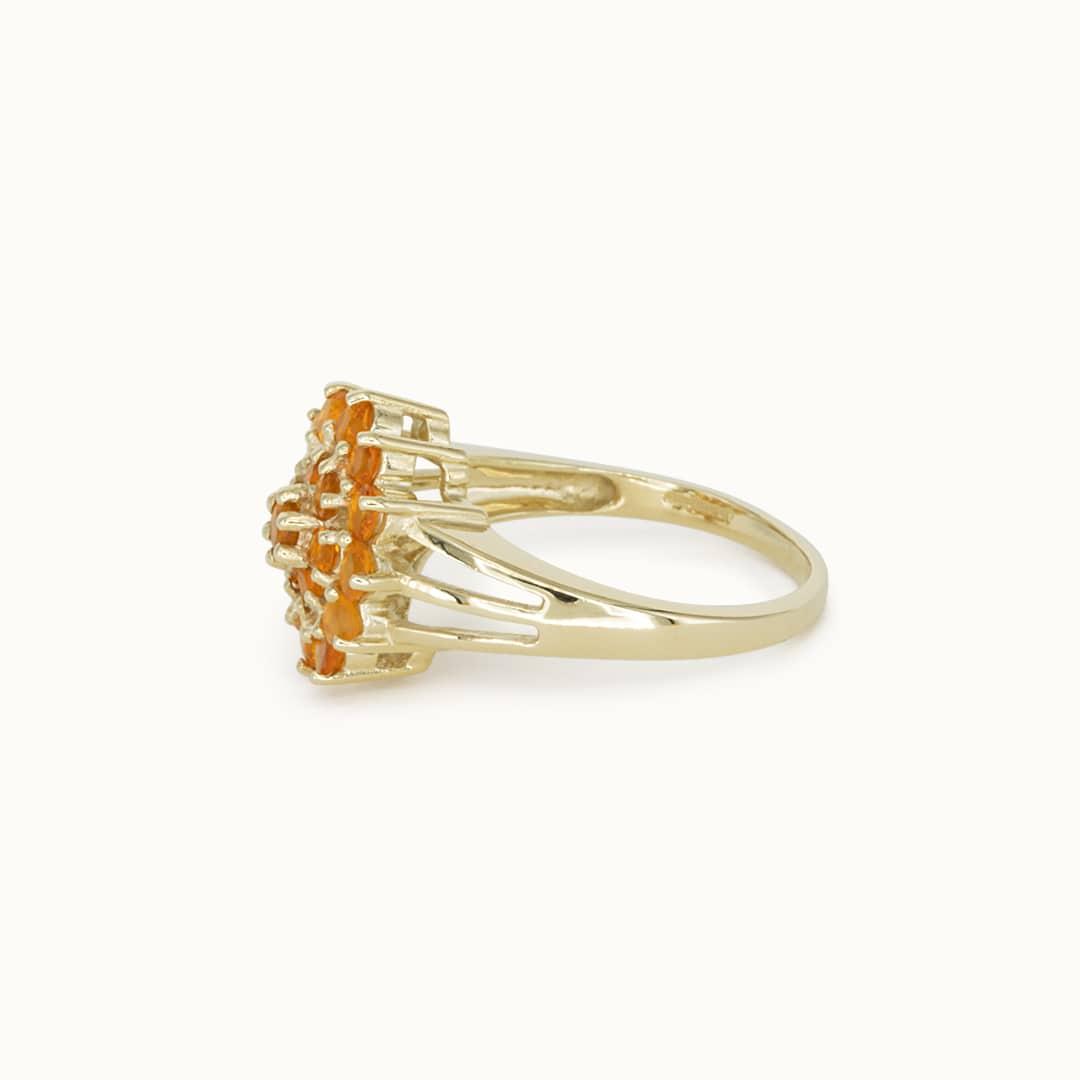 Malena | 9K Orange Sapphire