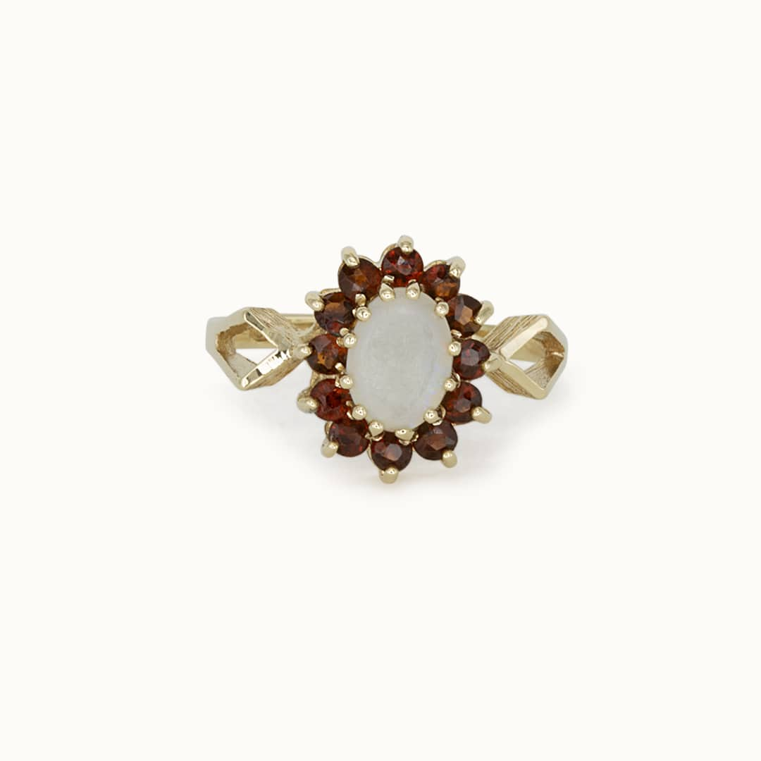 Briar | 9K Opal & Garnet