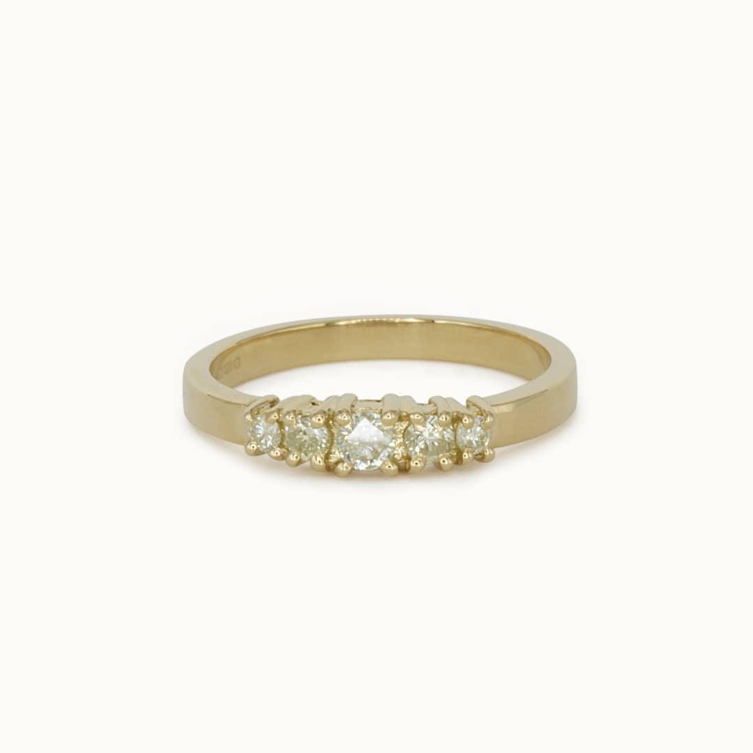 Blaire   18K Lemon Diamond