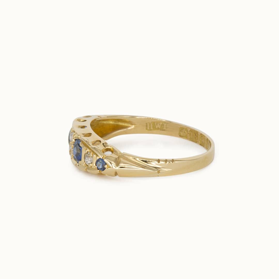 Sammi   18K Sapphire & Diamond