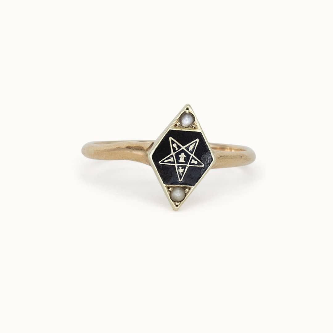 Masonic | Onyx & Enamel